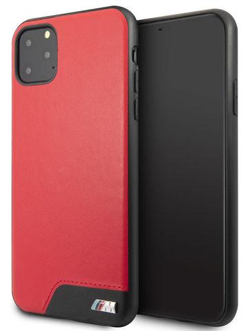 BMW / чехол для iPhone 11 Pro Max чехол | M-Collection Smooth PU Hard Red