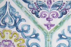 Рогожка Cotonello Medina (Котонело Медина) A 02 azul