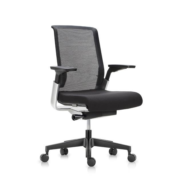 Офисное эргономичное кресло Match черная сетка - вид 1