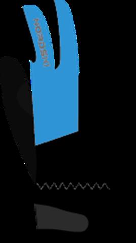 Перчатки Nordski Jr.Racing Black/Blue WS детские
