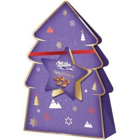 Шоколадные конфеты Milka Xmas Pack 152 гр