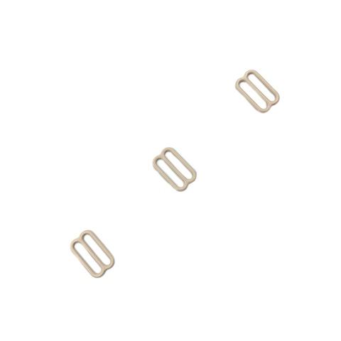 Регулятор для бретели бежевый матовый 15 мм (цв. 126)