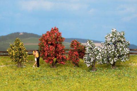 Садовые деревья - 5шт, (3-4 см)