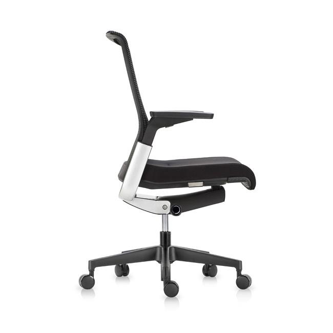 Офисное эргономичное кресло Match черная сетка - вид 3