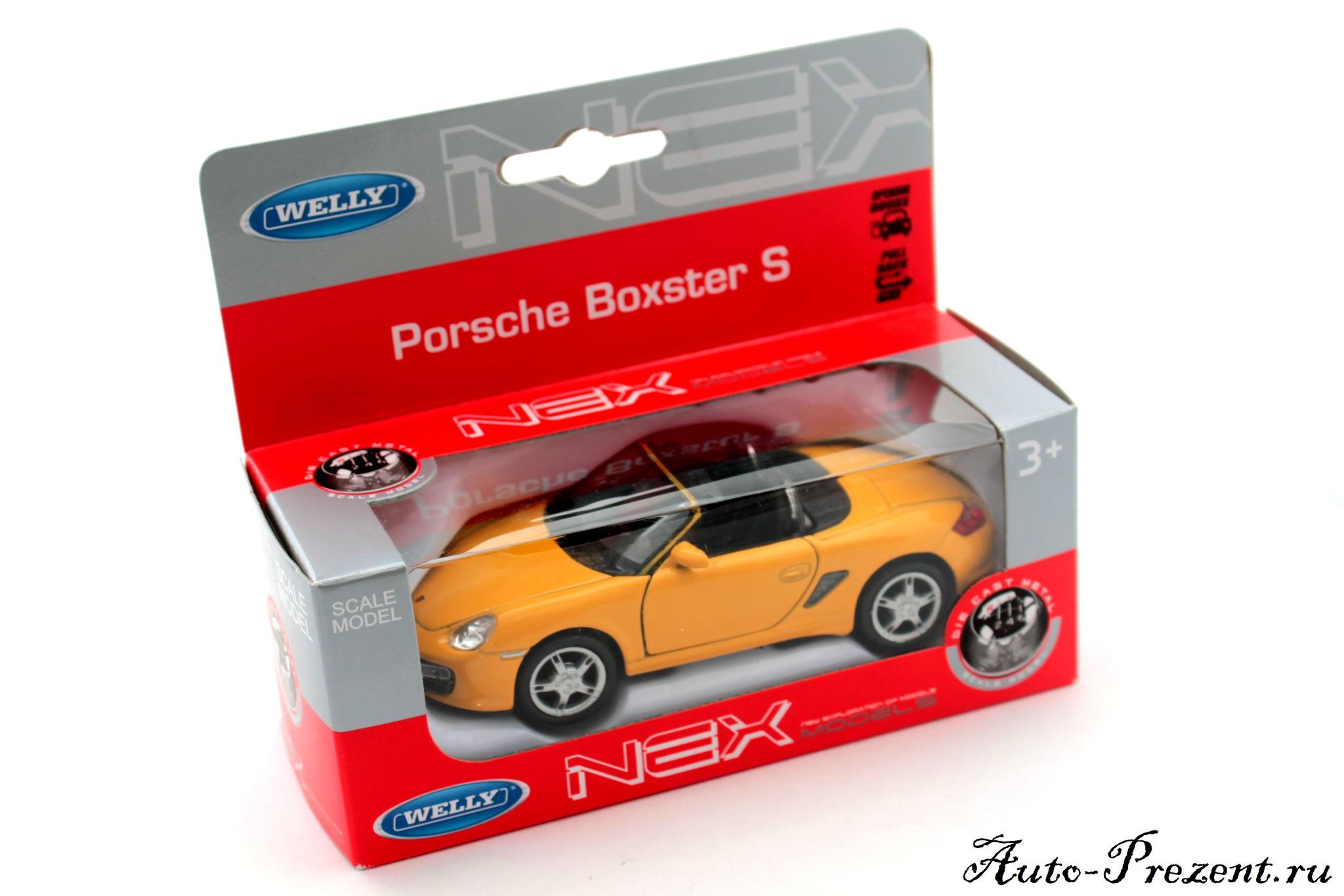 Машинка-игрушка Porsche Boxster S