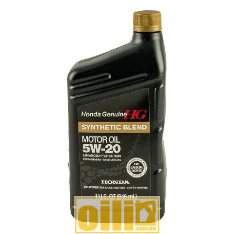 HONDA 5W-20 SYNTHETIC BLEND 0,946л (1qt)