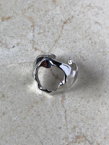 Кольцо Фриадрина, серебряный цвет