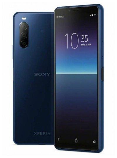 Sony Xperia 10 II Sony Xperia 10 II 4/128GB Blue (Синий) blue.jpg