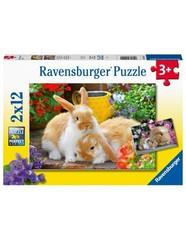 Puzzle Kleine Kuschelzeit 2x12 pcs