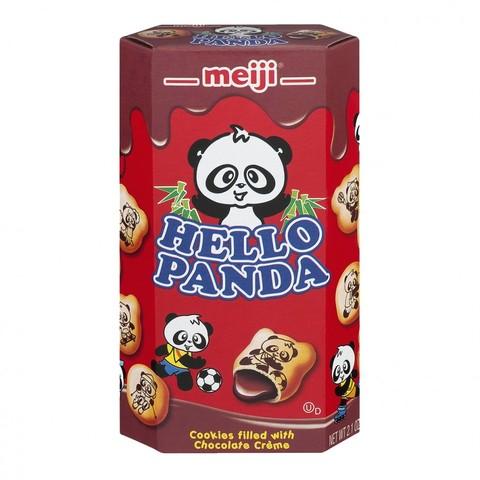 Печенье Meiji Hello Panda с шоколадной начинкой 45гр