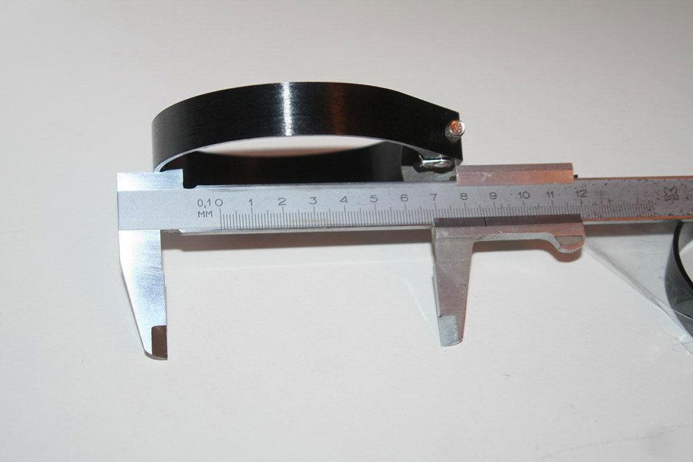 Изготовление алюминиевых хомутов под размеры на заказ