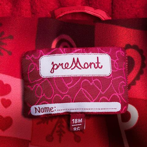 Premont комбинезон зимний Красные льдинки