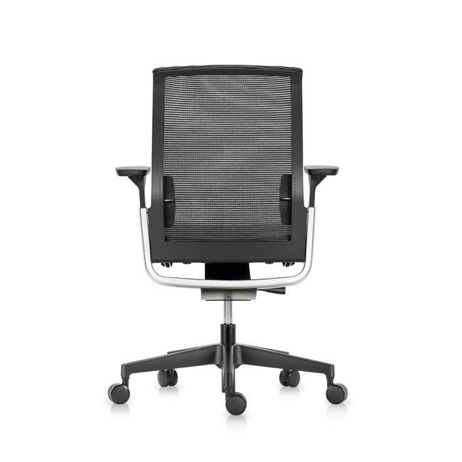 Офисное эргономичное кресло Match черная сетка - вид 4