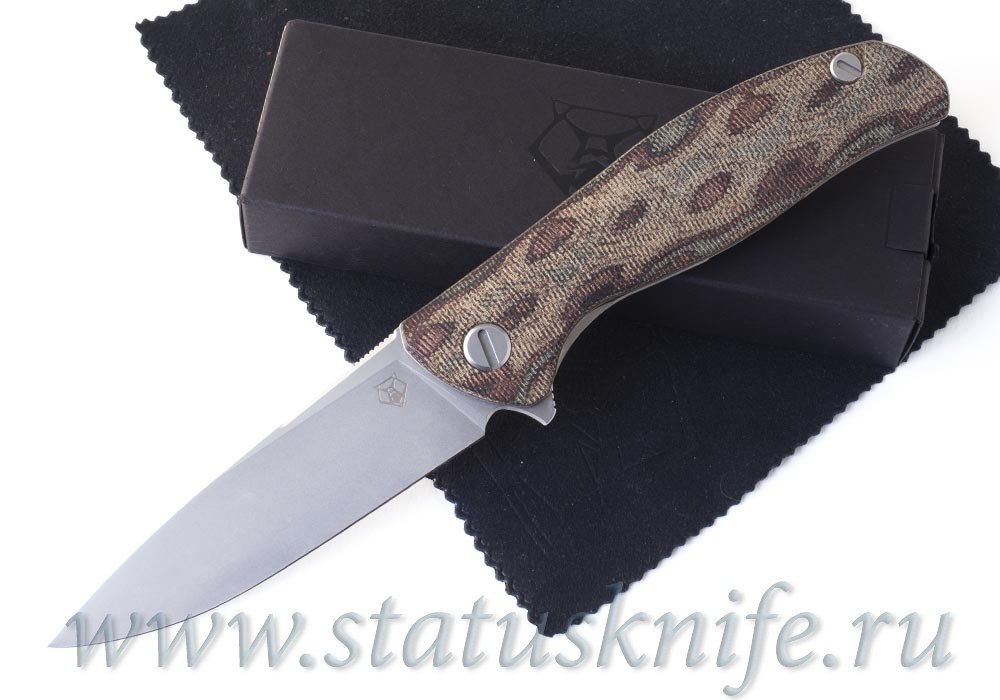 Нож Широгоров Ф3 М390 Микарта Питон 3D MRBS подшипники