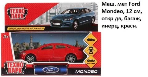 Машина мет. MONDEO-RD Ford Mondeo технопарк (СБ)