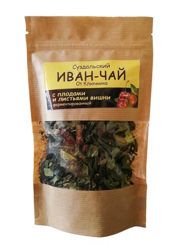 Иван-чай «с плодами и листьями вишни»