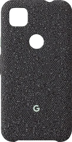 Чехол Google Pixel 4a Fabric Case, Basically Black  (Черный)