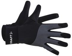 Светоотражающие перчатки для бега Craft Adv Lumen Fleece Glove black