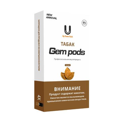 Gem Pods 4 картриджа Tobacco - Табак