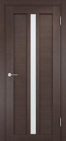 Дверь Венеция 05 (венге, остекленная экошпон), фабрика Casa Porte