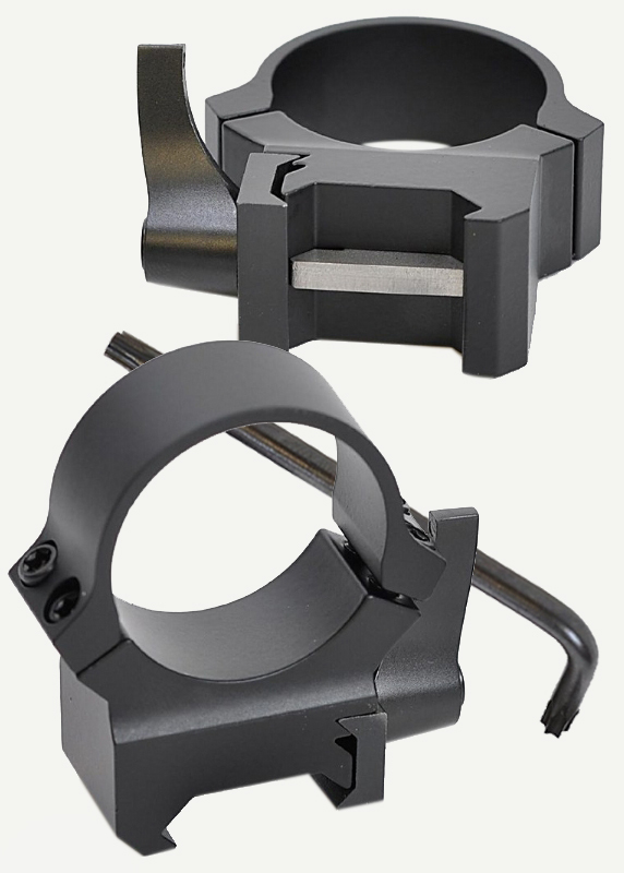 Кольца Leupold QRW2 на Weaver 30 мм, низкие