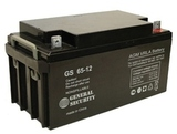 Аккумулятор General Security GS 65-12 ( GS12-65 ) ( 12V 65Ah / 12В 65Ач ) - фотография