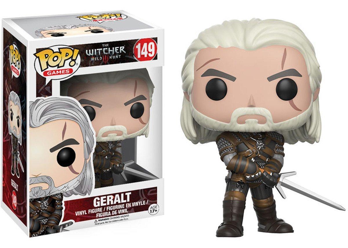 Фигурка Funko POP! Vinyl: Games: Witcher: Geralt 12134