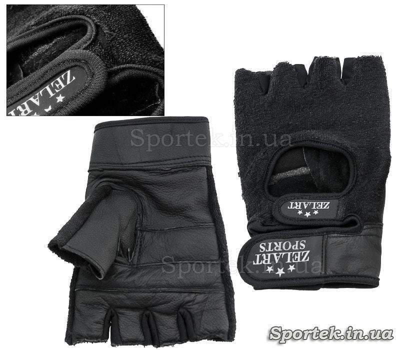 Шкіряні спортивні рукавиці Zelart ZB-3066