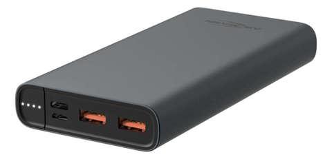 Универсальный аккумулятор ANSMANN Powerbank 15000 mA-черный