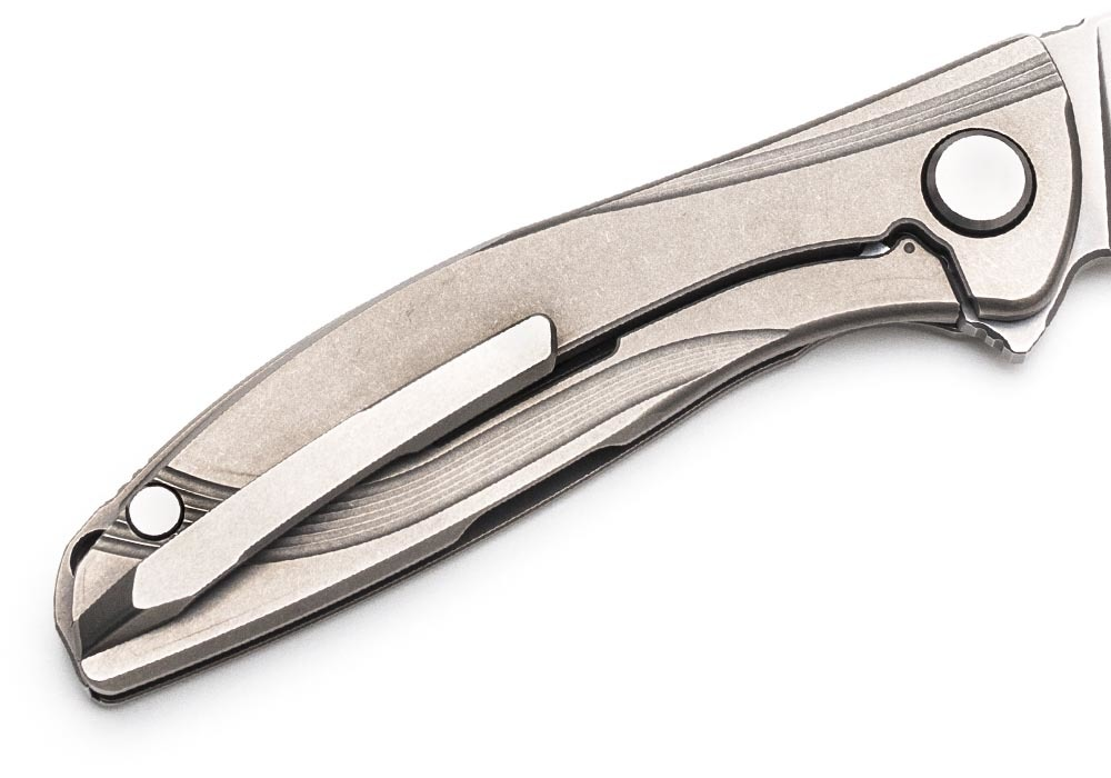 Нож Широгоров Неон Лайт М390 Lite 2D - фотография