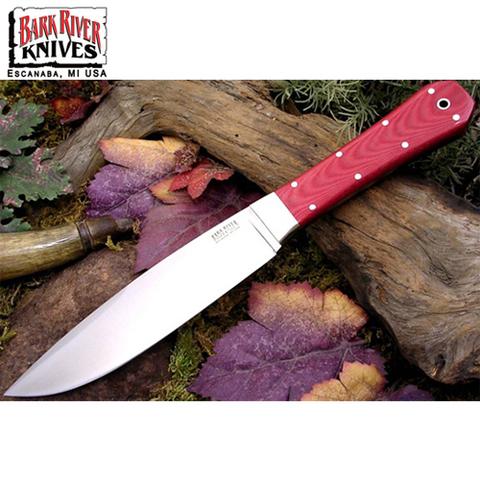 Нож Bark River модель Rogue Red Linen Micarta