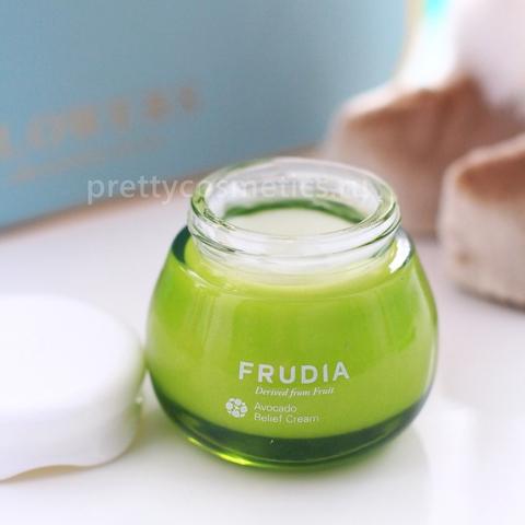 Купить Frudia Avocado Relief Cream Восстанавливающий крем с авокадо