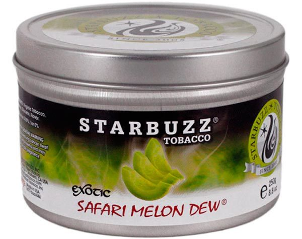 Табак для кальяна Starbuzz Safari melon dew 250 гр.
