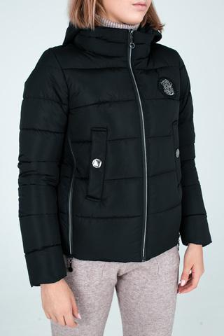 Куртка пуховик на синтепоне с капюшоном Nadya