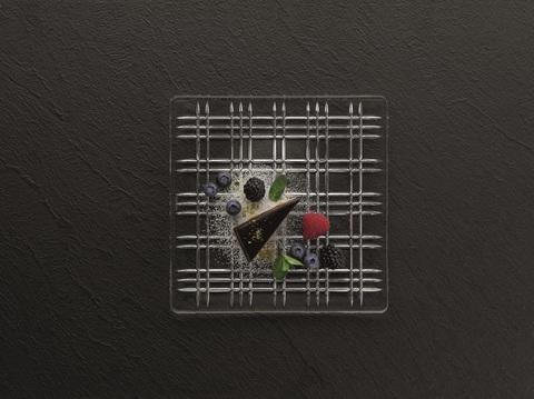 Набор из 2-х квадратных блюд, артикул 101045. Серия Square