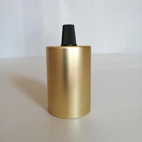 Металлический ретро патрон VS-20 (Матовое золото)