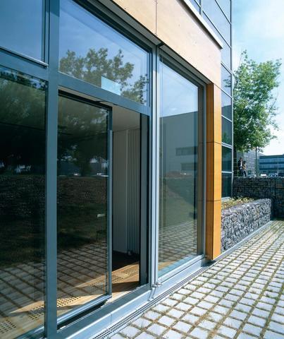 Раздвижные алюминиевые окна двери