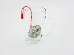"""7436 FISSMAN Ситечко для заваривания чая """"Двойное сердце"""""""