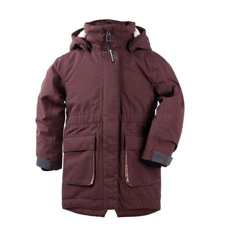 куртка Didriksons Ronne Old rust (бургундия)