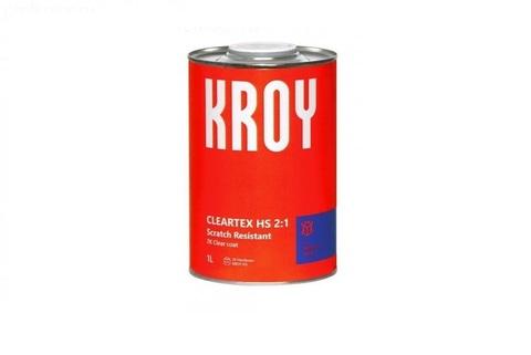 5076 KROY Cleartex HS 2:1 Scratch Resistant 2K Лак акриловый 1 L + 2K Отвердитель HS 0,5 L