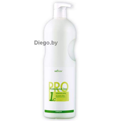 Шампунь-уход для защиты цвета окрашенных волос , 1000 мл ( Professional line )