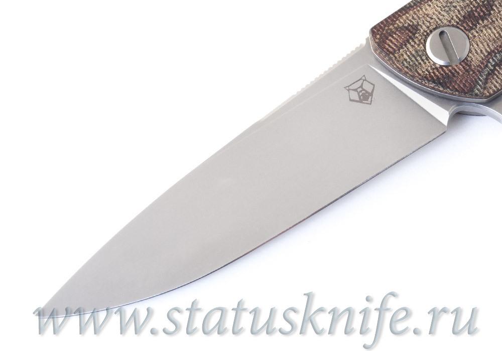 Нож Широгоров Ф3 М390 Микарта Питон 3D MRBS подшипники - фотография