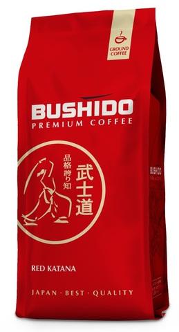 Кофе молотый Red Katana, Bushido, 227 г