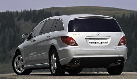 Mercedes-Benz R 251 2005- Ремонт Задней Пневмоподвески
