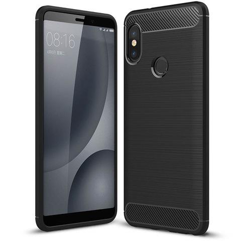 Противоударный чехол для Xiaomi Mi A2 Lite (6 Pro) (Черный)