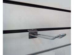 Крючок двойной для экономпанели 150 мм d.4,5 mm  хром, ЭП 012 - 150
