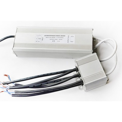 Блок питания 12В DC 100Вт для 6-х белых LED светильников 15(12)Вт типа TLOP PoolKing