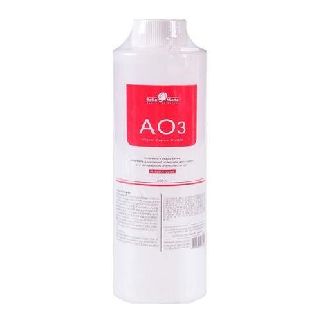 Лосьоны для аквапилинга гидропилинга АО3 400 мл.(питательное средство для всех типов кожи)