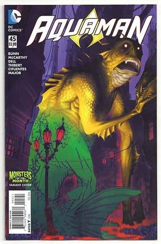 Aquaman #45 (Monsters of The Month VC)