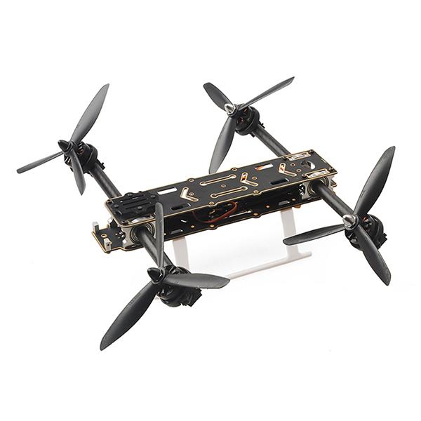 Рама гоночного квадрокоптера HMF SL300 с изменяемым углом лучей